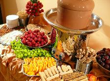 Fontanna z czekolady