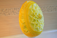 Melon carving by Carvingal 8