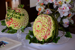 Watermelon carving by Carvingal 8